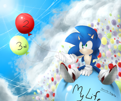 HBD Sonic 2014!!! by Unichrome-uni