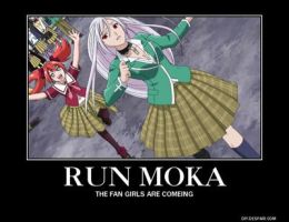 Rosario vampire motivational 12 by Allosaurus-rex123