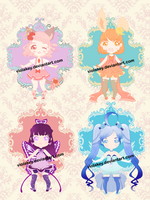 [OPEN  3/4] Adoptables by ViolaKey