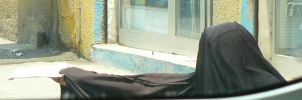 old arab begger woman by Insan-Stock