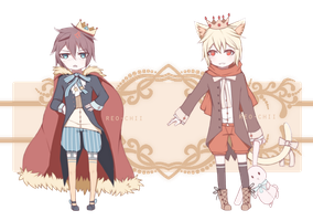 Tsundere and Yandere Prince Adopts | CLOSED by Reo-chii