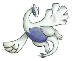 Lugia by Red-Flare
