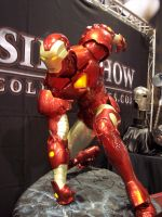 Iron man by harbinger-stock