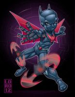 Arkham City: Batman Beyond by lordmesa