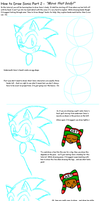.: How to Draw Sonic's Body by Neon-Nazo