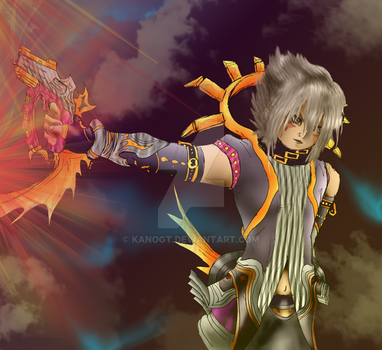 haseo colored :D by kanogt