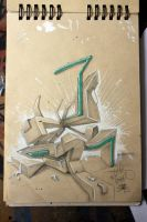 bbook persian graffiti by Kolahstudio