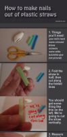 Plastic nails for bjd tutorial by cian1675