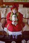 Rozen Maiden - Tea time with my lovely Kun Kun by CherryMemories