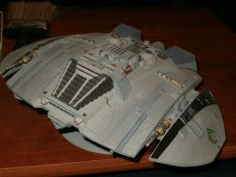 Cylon Raider by dgtrekker