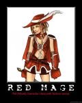Red Mage Motivational by HC-IIIX