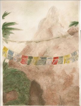 I Hate Watercolors 2 - Everest by speria