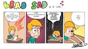 BRAD SAD is in love by chillyfranco