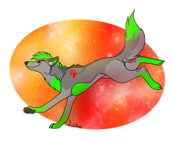 Commission : Chitto in the sky by StanHoneyThief
