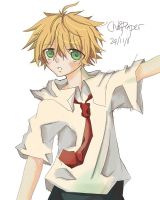Art Trade: erm ...chibi usui? by ChibiPaper