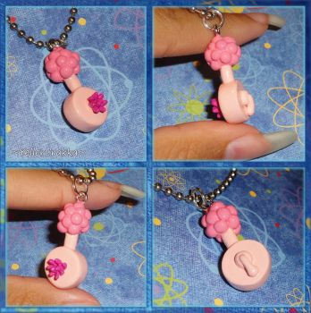 Rick and Morty - Plumbus Charm Necklace by YellerCrakka