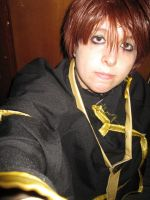 Teito with black tunic test by Die-Rose