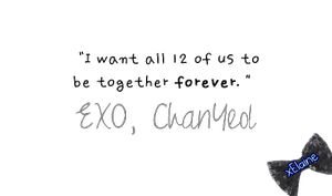 EXO-K Chanyeol's Quote [PNG] by xElaine