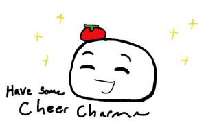 Mochi Spain Cheer Charm by BlueEmperorButterfly