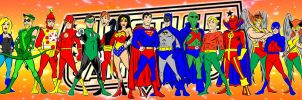 justice league banner by AlanSchell