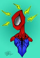 My version of Spiderman by LloydBridgemanInk