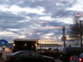 Pike Place Sunset by cowgirlscholar