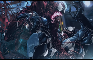 Venom vs Carnage by isma92