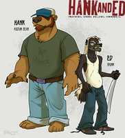 Hank and Ed by grungepuppy