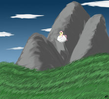 Lonely Cloud in the Plains by Norse98