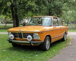 1973 BMW 2002 Tii with Hella Headlights by Kitteh-Pawz