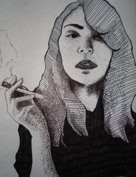 Cross hatching and Stippling by Wally-Z