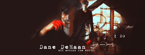Timeline # Dane DeHaan by UrbanFlowerGraphic