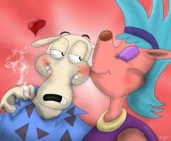 The Big Kiss by The-B-Meister