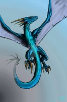 Wyvern by tsunami-noboru