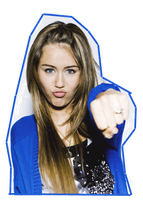 Miley Png by AdyCullenBlack
