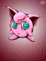 jigglypuff with bg by pnutink