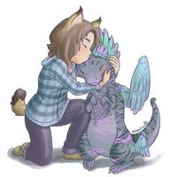 Kiss the Coatl by RobanCrow