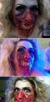 prosthetic makeup by gorkafx