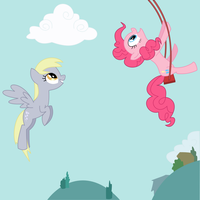 Pinkie Swing by adcoon