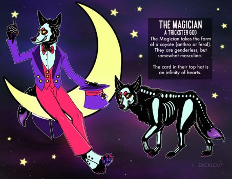 The Magician Reference Sheet by ZackLoup