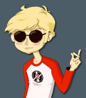 dave strider by kitten-burrito