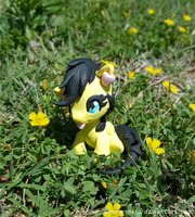Clay Dinos Flowers by Amore-Nero