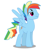 Rainbow Dash Rule 63 by DragonChaser123