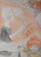 Lina Inverse vs. Voldemort by Miss-Whoa-Back-Off