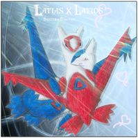 Latias and Latios - Forever by Gem-n-Ems
