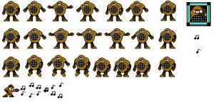 MusicMan sprite sheet by hfbn2