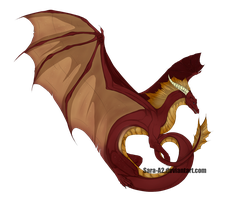 Ginger's Dragon!! by Sara-A2