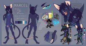 Marcel Reference by Majime