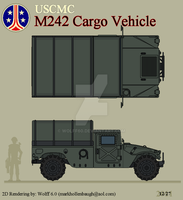 USCMC M242C Cargo Vehicle by Wolff60
