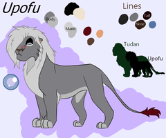 Upofu ~UPDATED REFERENCE SHEET~ by MegaJerk